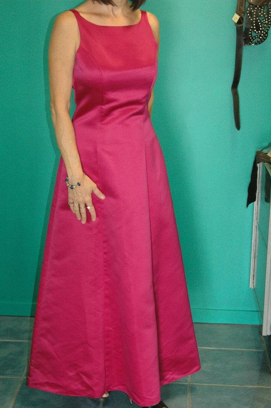 b86723004a5  PURPLE PATCH  SIZE 10 FORMAL   BRIDESMAID DRESS. WORN ONCE  75.00
